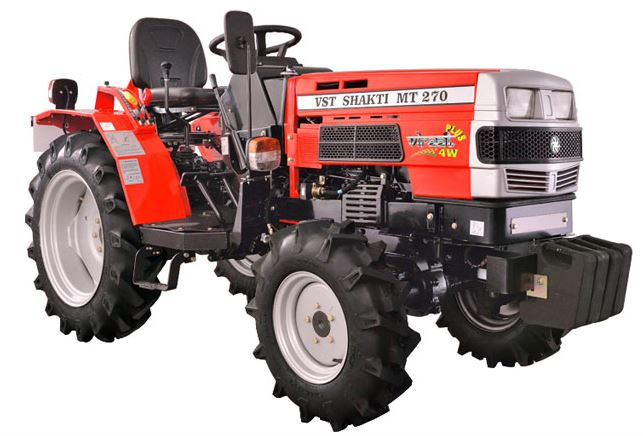 VST Shakti MT 270 VIRAAT 4W PLUS Mini Tractor price specs