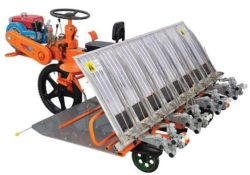 VST Yanji Shakti 8 Row Rice Transplanter Overview