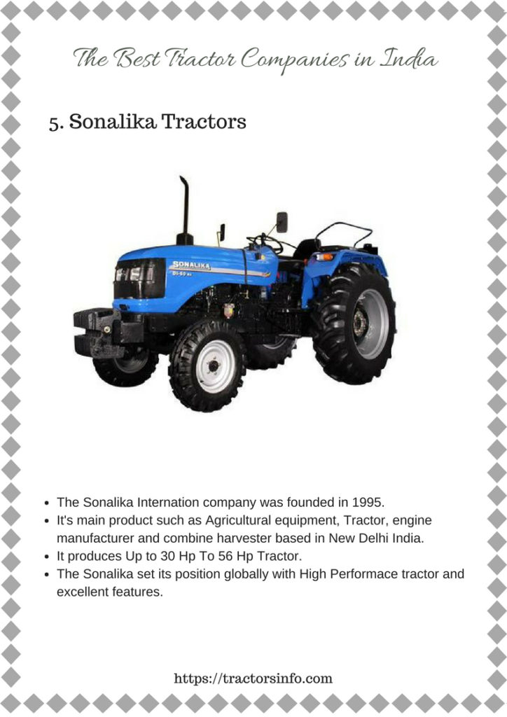 Top 15 Tractor Companies Models in India 2019 with Price, Specs