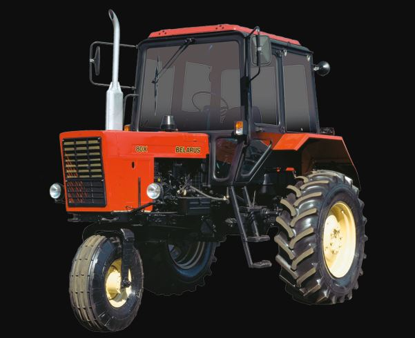 BELARUS 80X Specialized Tractor Information