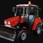 BELARUS MU-320 Road Sweeper Vehicle Specs Price & Key Features