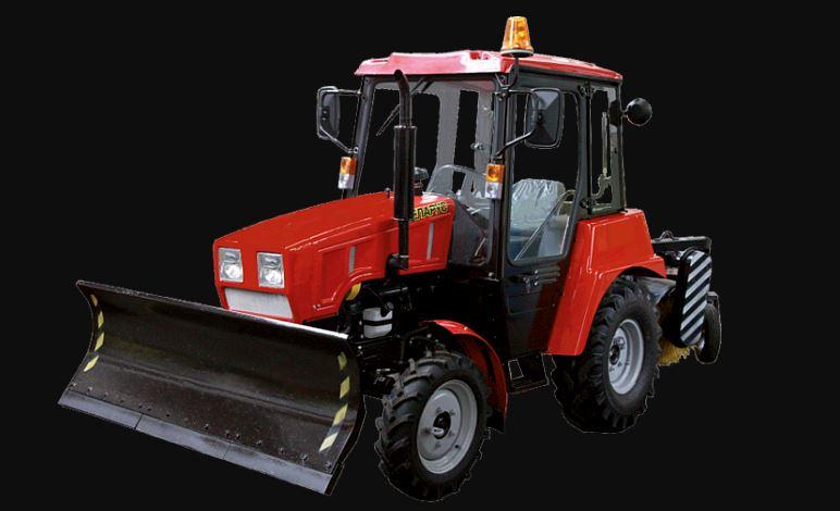 BELARUS MU-320 Road Sweeper Vehicle Specs Price & Key Feature