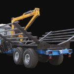 BELARUS OPL Equipment of The Semi-trailer Forest Machinery Information