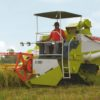 CLASS CROP TIGER 30 TERRA TRAC Combine Harvester Specs Price Features
