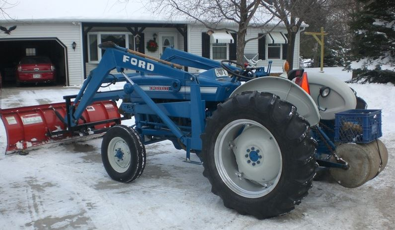 Ford 3000 Tractor Attachments