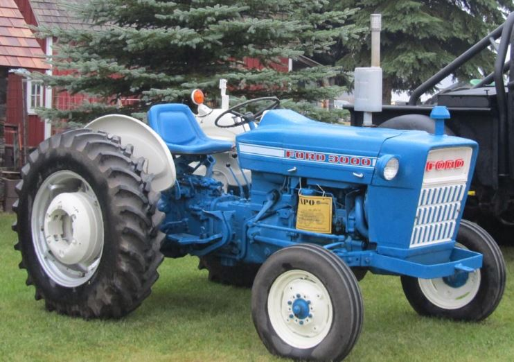 Ford 3000 Tractor Overview