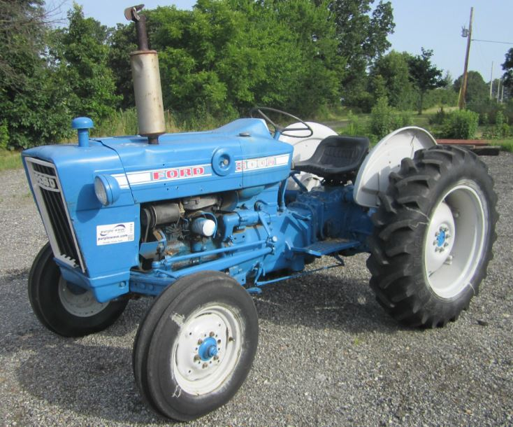 Ford 3000 Tractor specifications