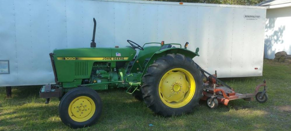 John Deere 1050 Tractor Specification  Review  Engine
