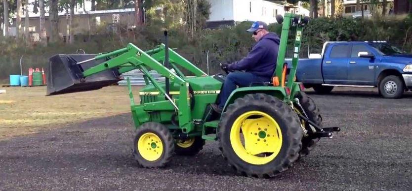 John Deere 790 Tractor Overview