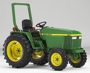 John Deere 790 Tractor Price