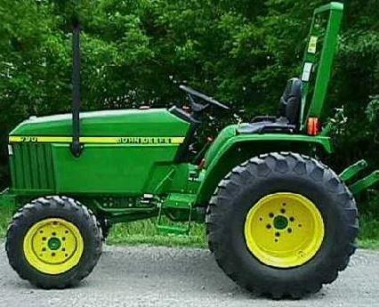 John Deere 790 Tractor specs