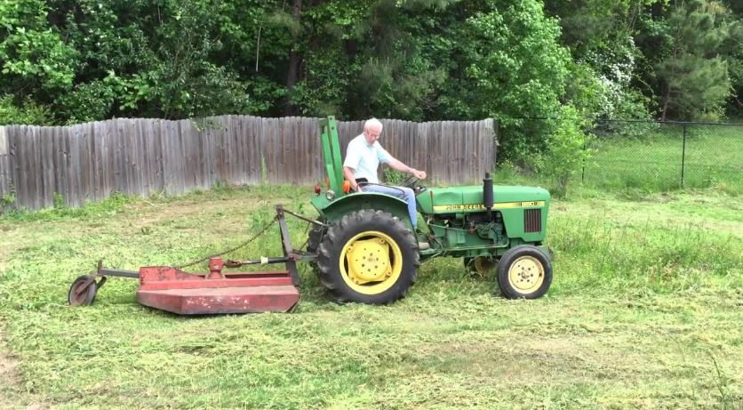 John Deere 850 Tractor Attachments