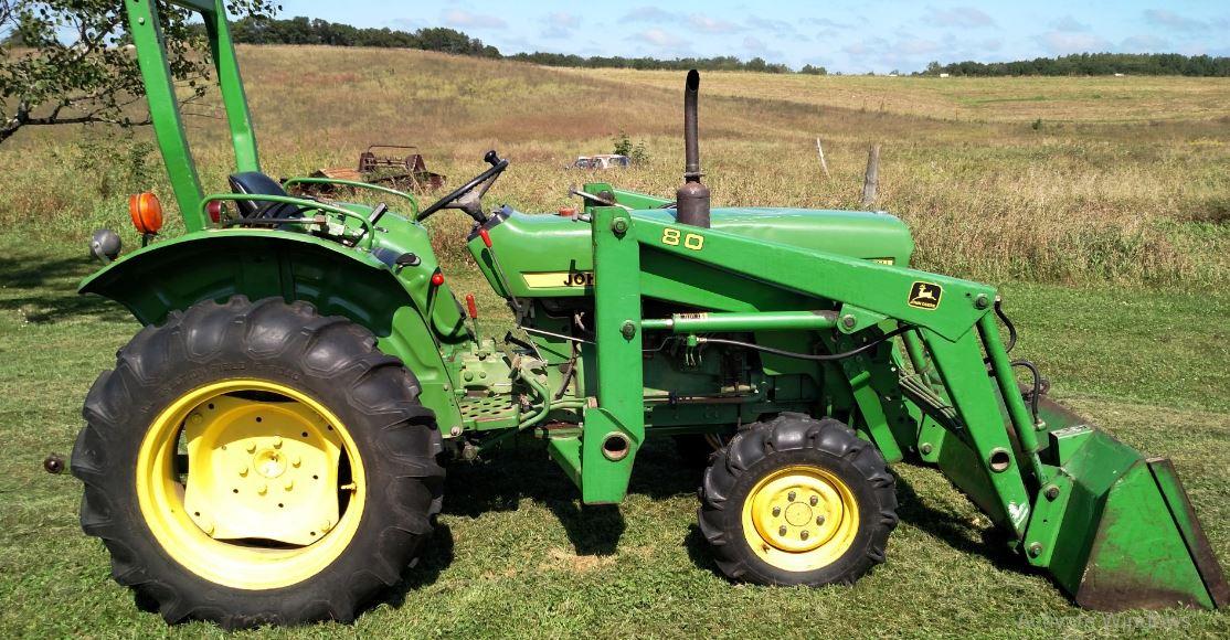 John Deere 850 Tractor Price