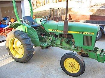 John Deere 850 Tractor Serial Number