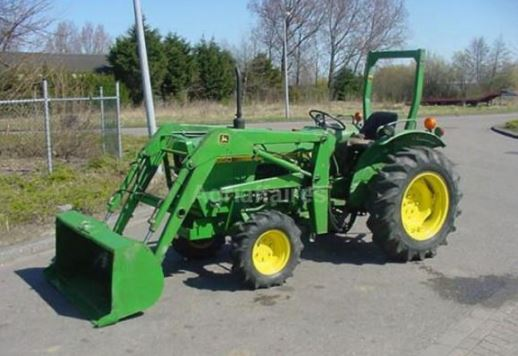 John Deere 850 Tractor Specifications