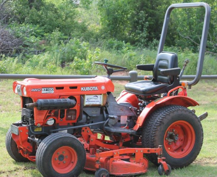 Kubota B7100 Tractor Specifications