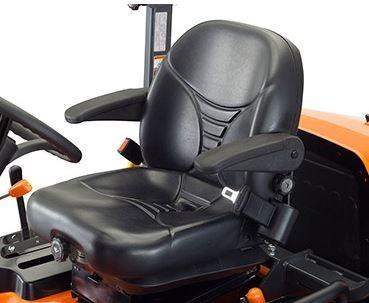 Kubota F2890 60inch - 72inch Mower comfort