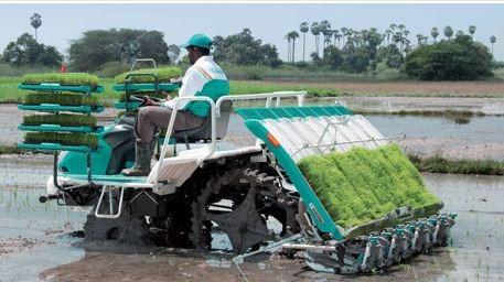 Kubota NSD8 Rice Transplanter
