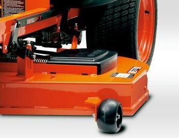 Kubota Z121S Zero-Turn Mower components