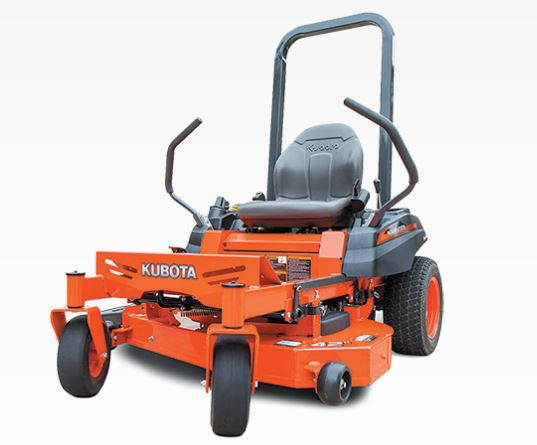 Kubota Z122E Zero-Turn Mower Overview