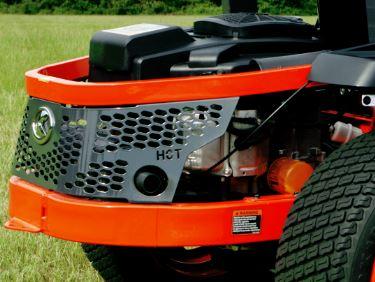 Kubota Z122E Zero-Turn Mower engine