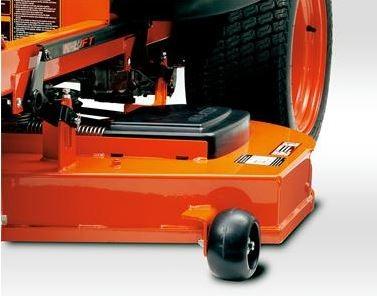 Kubota Z122R Zero-Turn Mower components