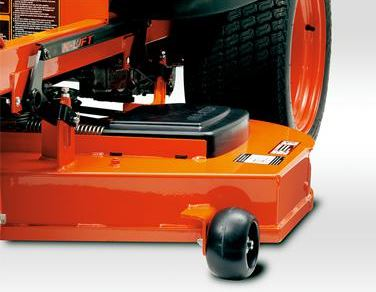 Kubota Z125E Zero-Turn Mower components
