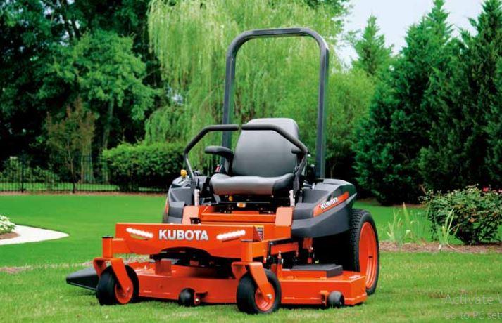Kubota Z125S Zero-Turn Mower comfort