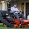 Kubota Z421KW-54 Zero-Turn Mower comfort