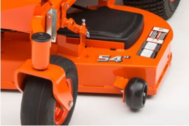 Kubota Z421KW-54 Zero-Turn Mower deck