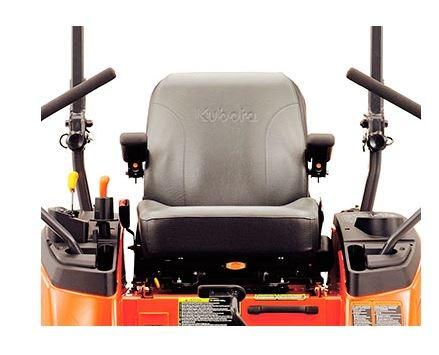 Kubota ZG327-60 Zero-Turn Mower comfort