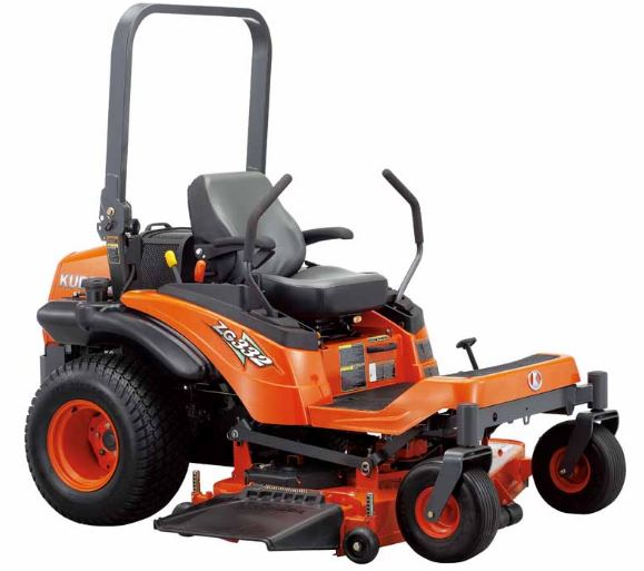 Kubota ZG332LP-72 Zero-Turn Mower Overview