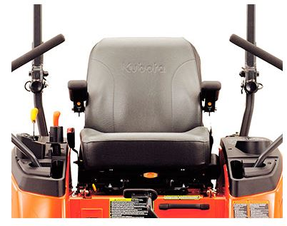 Kubota ZG332LP-72 Zero-Turn Mower comfort