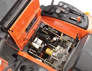 Kubota ZG332LP-72 Zero-Turn Mower maintenance