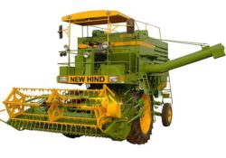 NEW HIND 499 Mini Self Propelled Multicrop Combine Harvester Info.