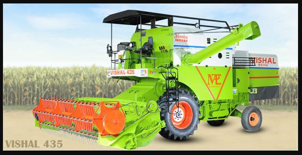 Vishal 435 Combine Harvester Price specs Overview