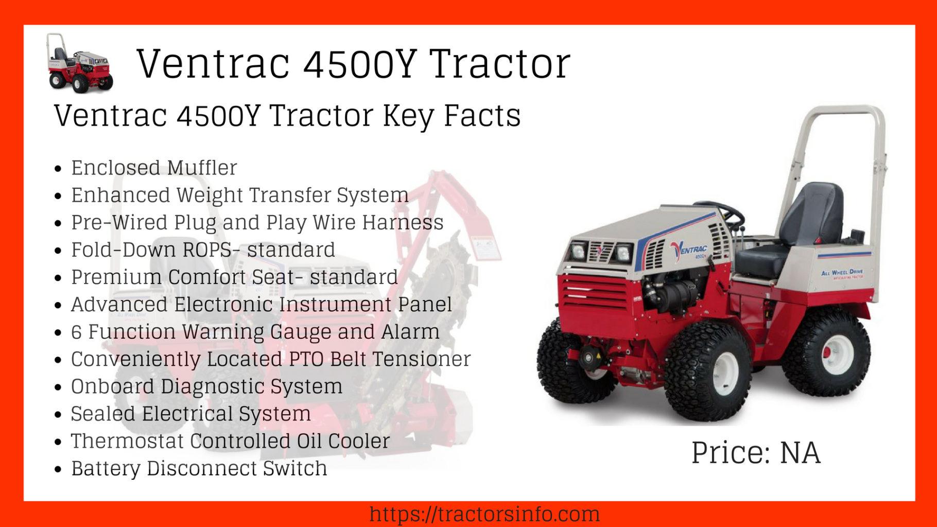Ventrac 4500Y Tractor