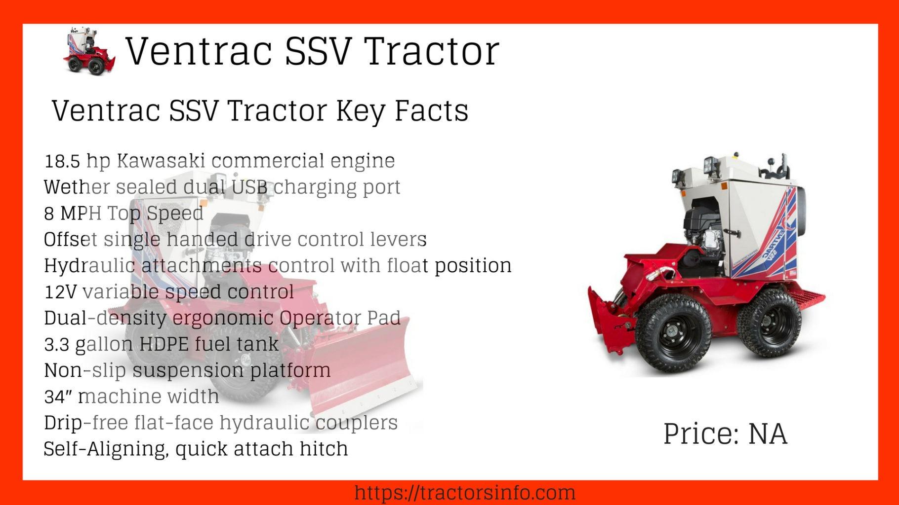 Ventrac SSV Tractor