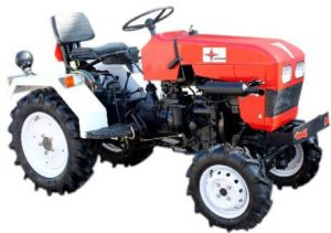 Lovson 4 x 4 Little Ginnie – 14.5 hp Tractor