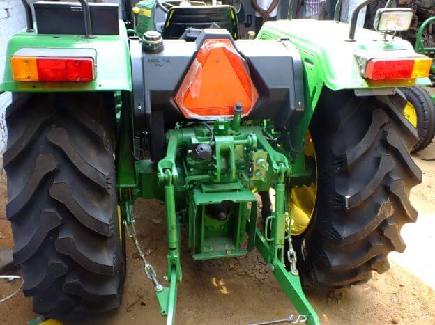 John Deere 5055E Tractor Back view