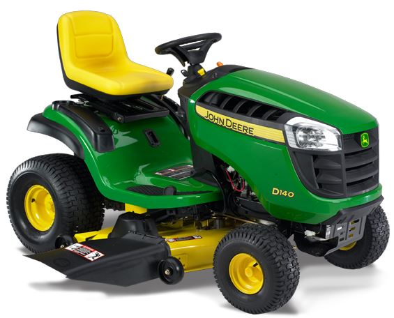 John Deere D140 lawnmower