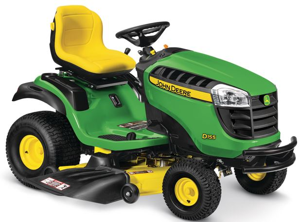 John Deere D155 lawnmower