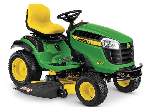 John Deere D160 lawn mower