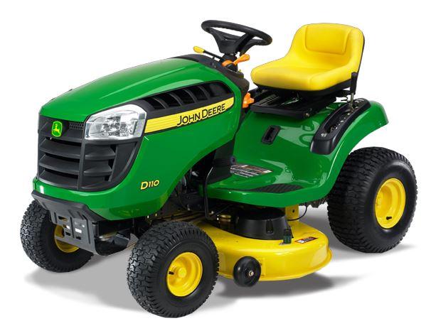 John Deere D170 lawn mower