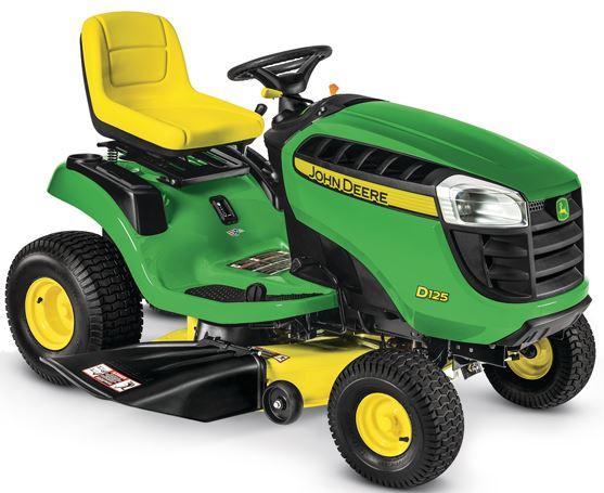 John Deere Lawn Mower D125