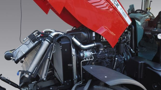 McCormick X7 Pro Drive Tractor engine