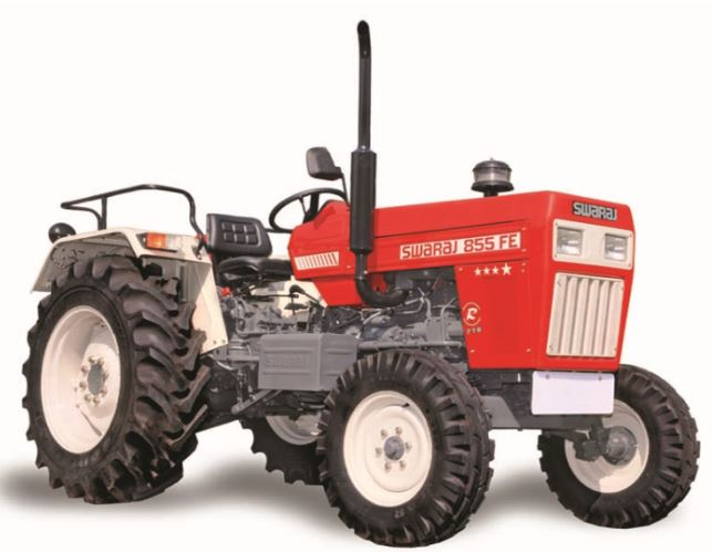 Swaraj 855 Tractors Price Implements Specifications Features