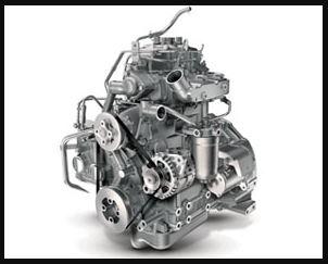Mahindra JIVO 365 DI 4WD tractor engine