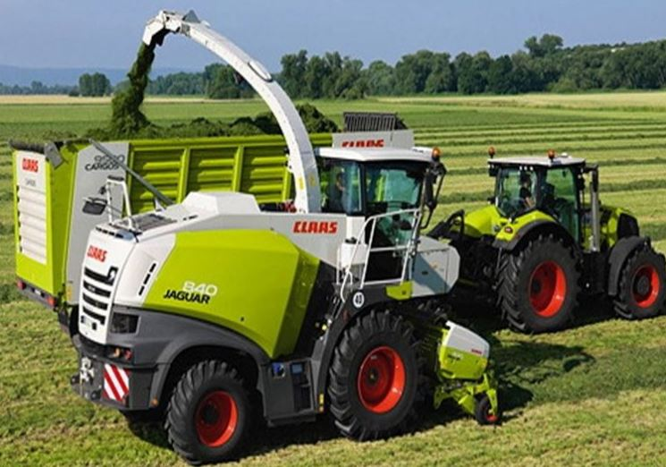 CLASS JAGUAR 840 Forage harvesters