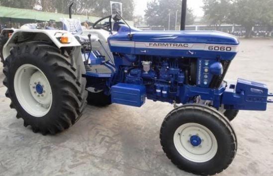 Escorts Farmtrac 6060 Executive Tractor